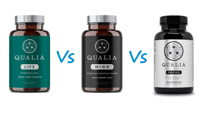 Neurohacker Qualia Life vs Mind vs Focus(Qualia Mind Essentials) Selye Institute